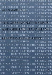 German Naturalists and Gerhart Hauptmann