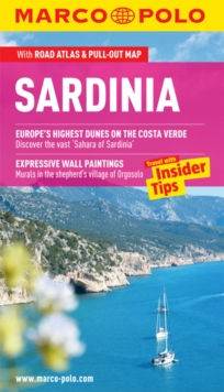 Sardinia Marco Polo Guide, Mixed media product Book