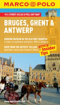 Bruges, Ghent & Antwerp Marco Polo Guide, Mixed media product Book