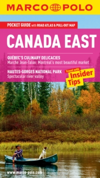 Canada East Marco Polo Pocket Guide, Mixed media product Book