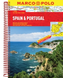 Spain/Portugal Atlas, Spiral bound Book