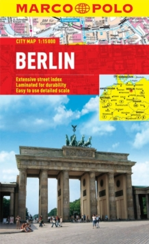 Berlin Marco Polo City Map, Sheet map, folded Book