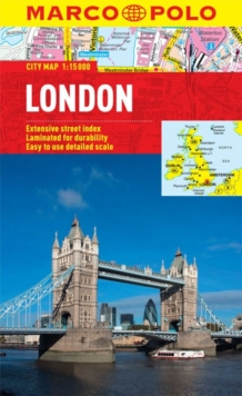 London City Map, Sheet map, folded Book