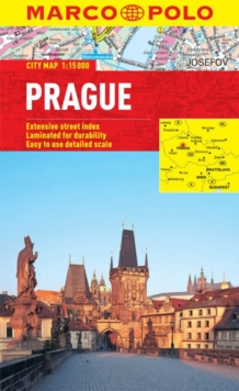 Prague City Map, Sheet map, folded Book