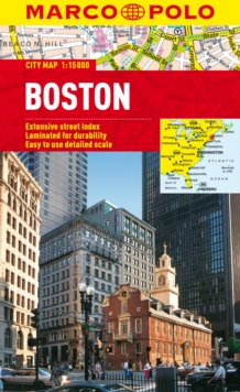 Boston Marco Polo City Map, Sheet map, folded Book