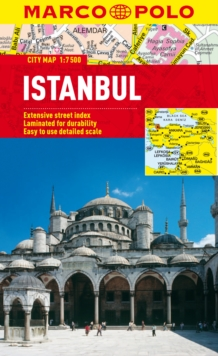 Istanbul Marco Polo City Map, Sheet map, folded Book