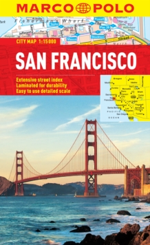 San Francisco Marco Polo City Map, Sheet map, folded Book