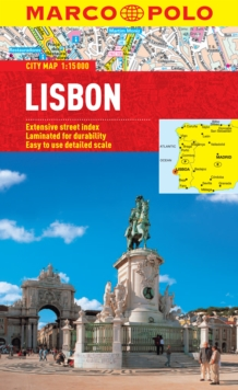 Lisbon Marco Polo City Map, Sheet map, folded Book