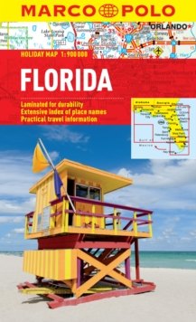 Florida Marco Polo Holiday Map, Sheet map, folded Book
