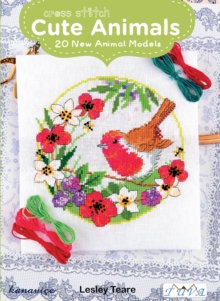 Cross Stitch Cute Animals: 20 New Animal Models, Paperback Book