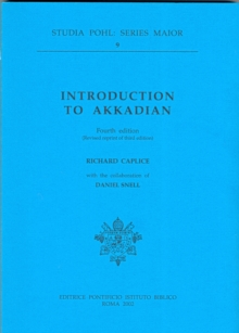 Introduction to Akkadian, Hardback Book