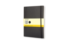 Moleskine Soft Xlarge Squared Notebook, Notebook / blank book Book