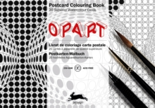 Op Art : Postcard Colouring Book, Paperback Book