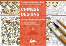 Chinese Designs : Postcard Colouring Book, Paperback Book