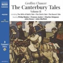 The Canterbury Tales : v. 2, CD-Audio Book
