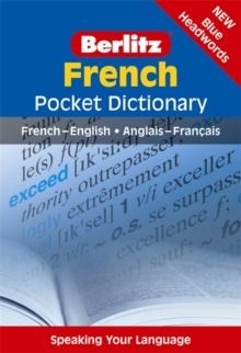 Berlitz: French Pocket Dictionary, Paperback Book