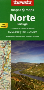 North Portugal : Norte Portugal, Sheet map, folded Book