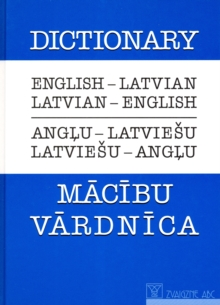English-Latvian & Latvian-English Dictionary, Paperback Book