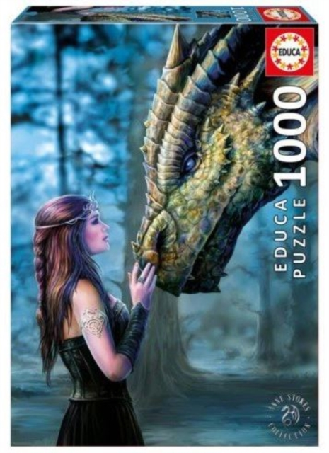 Image for Educa Borras - Once Upon a Time, Anne Stokes 1000 piece Jigsaw Puzzle