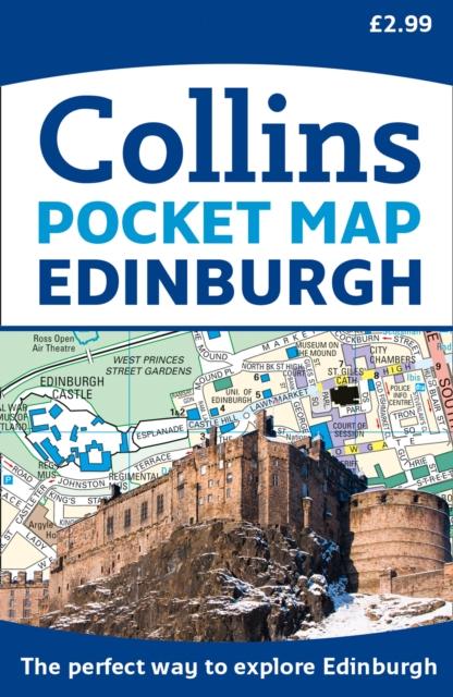Cover for: Edinburgh Pocket Map : The Perfect Way to Explore Edinburgh