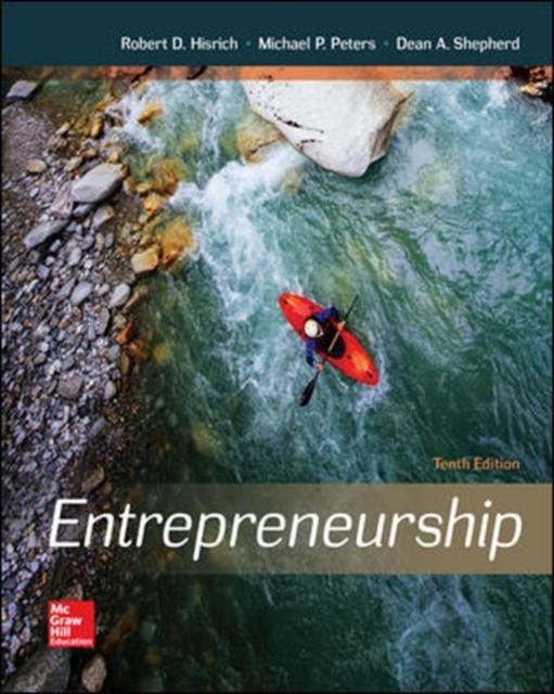 Entrepreneurship, Hisrich, Robert A., Peters, Michael P., Shepher. 9780078112843