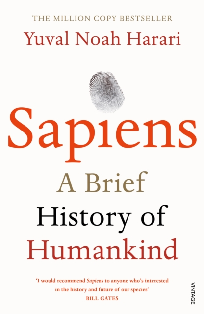 Cover for: Sapiens : A Brief History of Humankind