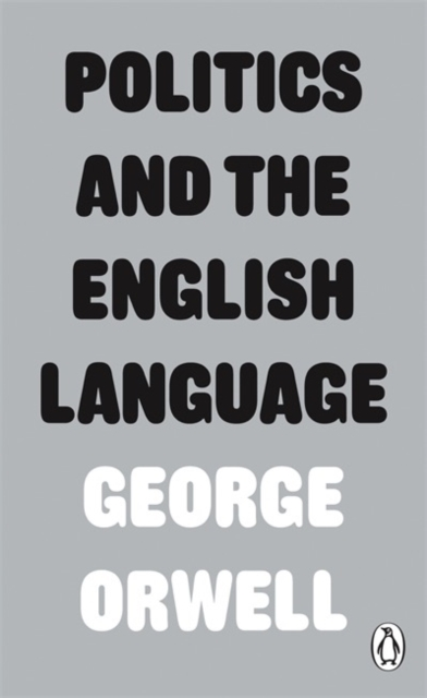 Cover for: Politics and the English Language