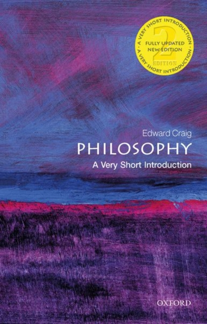 Cover for: Philosophy: A Very Short Introduction