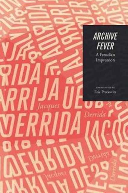 Image for Archive Fever : A Freudian Impression