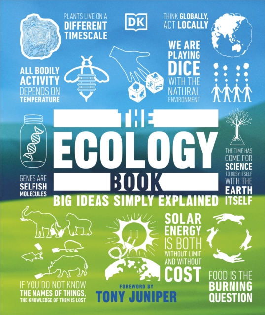 Cover for: The Ecology Book : Big Ideas Simply Explained