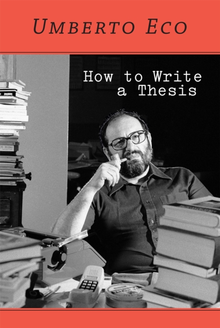 Cover for: How to Write a Thesis