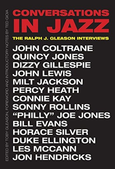 Image for Conversations in Jazz : The Ralph J. Gleason Interviews