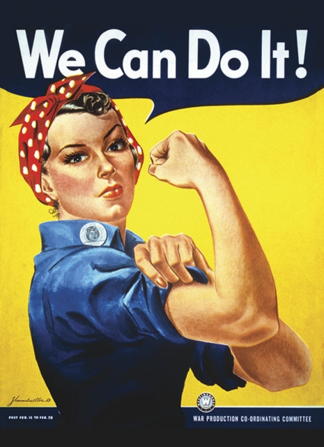 Cover for: Rosie the Riveter We Can Do It! Notebook
