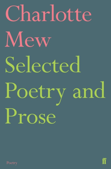 Cover for: Selected Poetry and Prose
