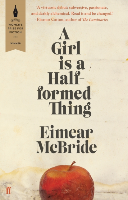 Cover for: A Girl is a Half-formed Thing