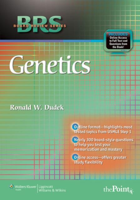 BRS Genetics (Board Review Series) (Paperback), Dudek, Ronald W., 9780781799942