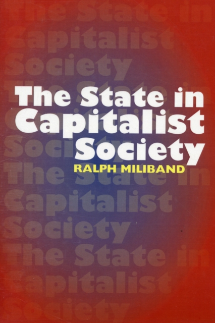 Cover for: State in Capitalist Society