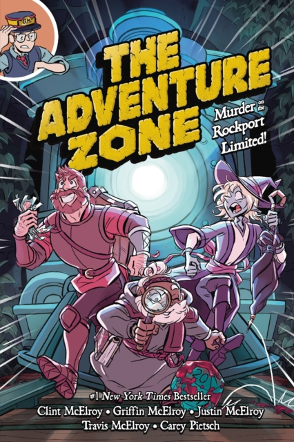 Cover for: The Adventure Zone : Murder on the Rockport Limited!