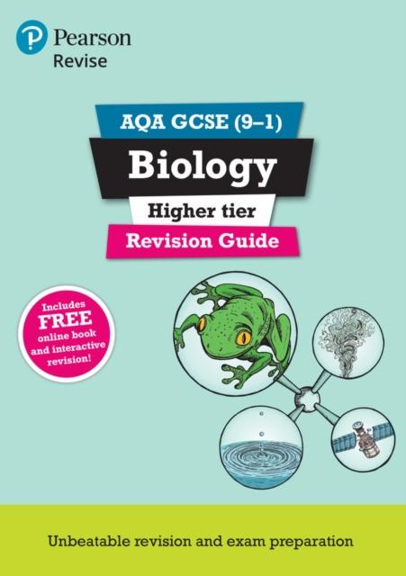 Revise Aqa Gcse Biology Higher Revision , Lowrie, Pauline, Kearse. 9781292135038