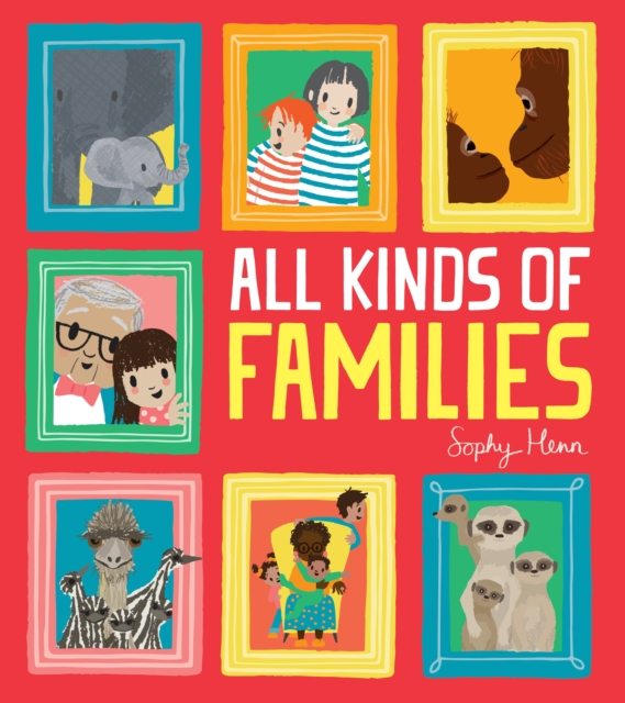 Cover for: All Kinds of Families