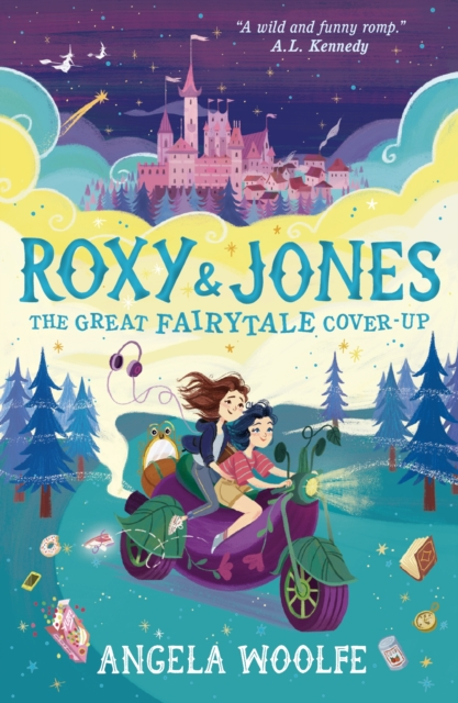 Cover for: Roxy & Jones: The Great Fairytale Cover-Up