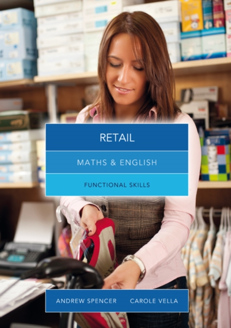 Maths and English for Retail: Functional Skills (Paperback), Vell. 9781408083086