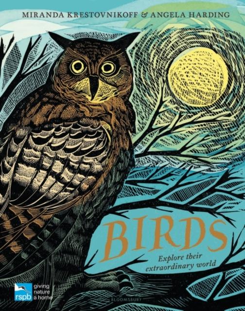Cover for: RSPB Birds : Explore their extraordinary world