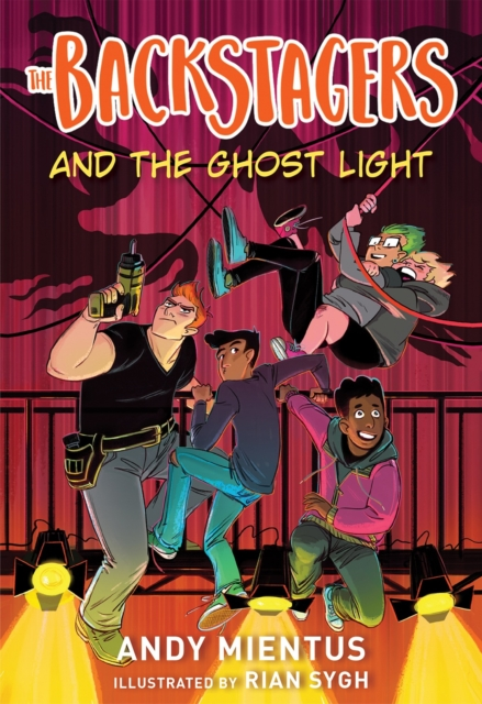Cover for: The Backstagers and the Ghost Light (Backstagers #1)