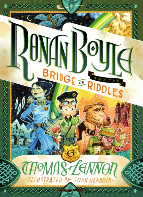 Cover for: Ronan Boyle and the Bridge of Riddles
