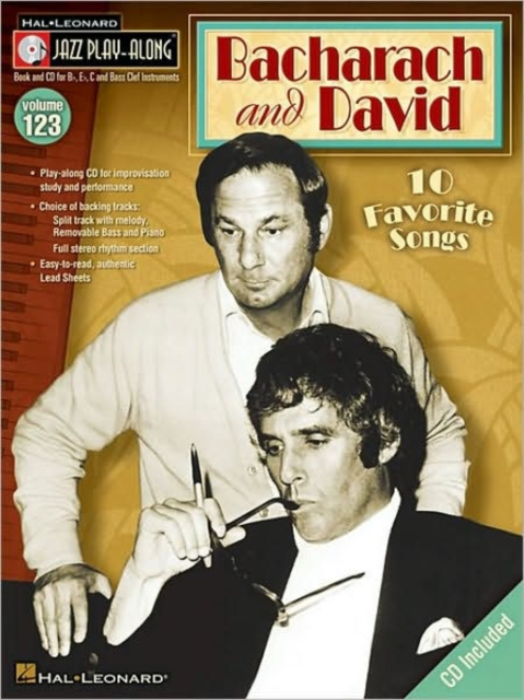 Bacharach and David [With CD (Audio)]: 123 (Hal Leonard Jazz Play. 9781423490630