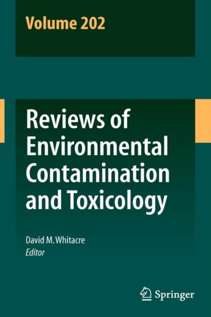 Reviews Of Environmental Contamination A, Whitacre, David M., 9781441911568