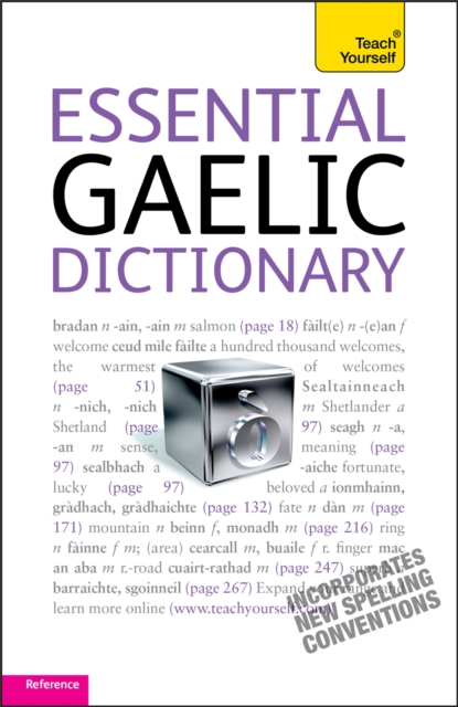 Cover for: Essential Gaelic Dictionary: Teach Yourself