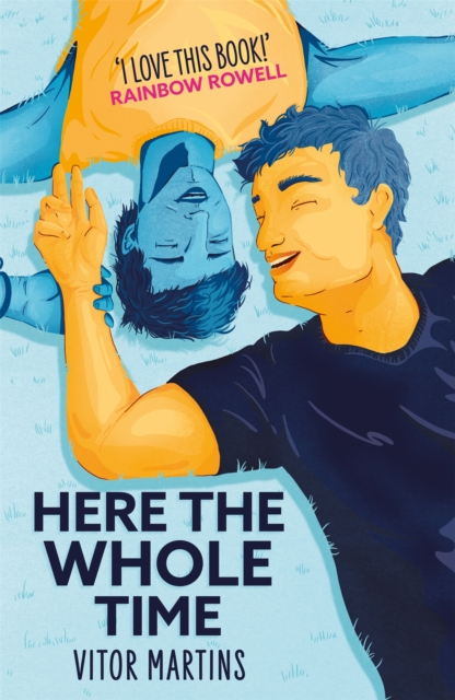 Cover for: Here the Whole Time