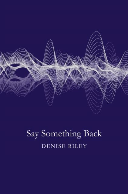 Cover for: Say Something Back